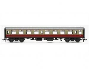 Hornby R4628 [RAILROAD] BR Mark 1 2nd Open Coach, Crimson/Cream Livery
